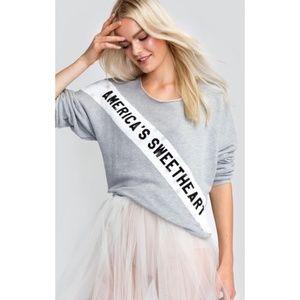 Wildfox Couture America's Sweetheart Sweatshirt